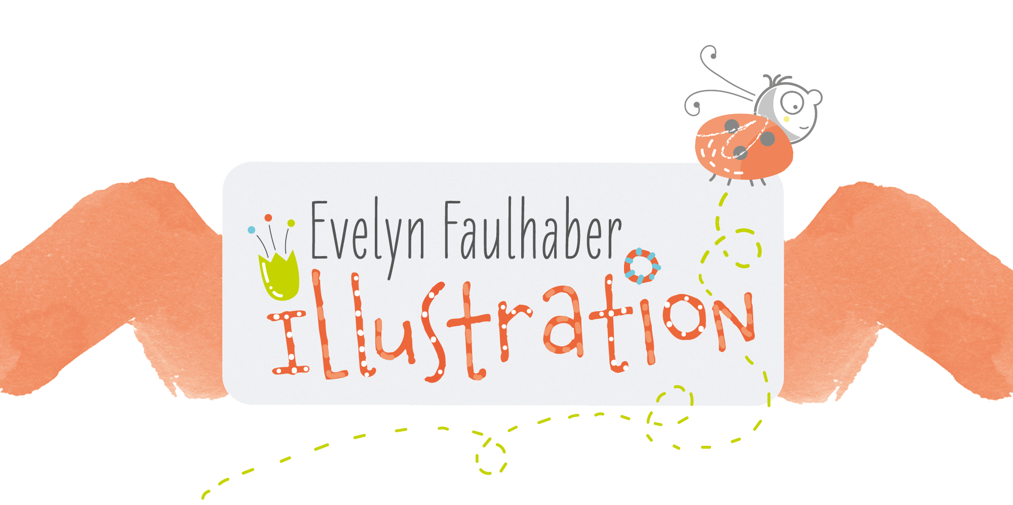 Logo Evelyn Faulhaber Illustration