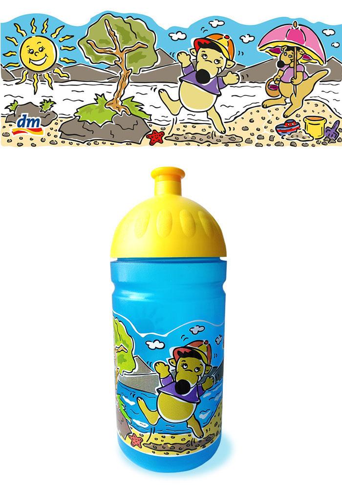 dm sonnenkinder trinkflasche
